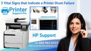 3 Vital Signs that Indicate a Printer Drum Failure