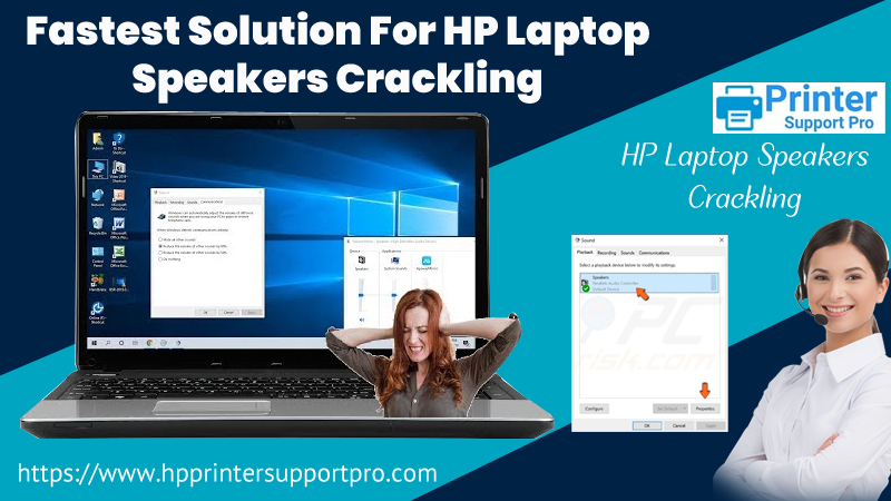 Fastest Solution For HP Laptop Speakers Crackling