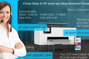 4 Easy Steps to HP smart app setup download Process