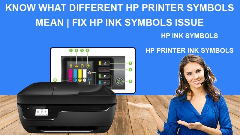 Learn to fix HP Printer error symbols quickly