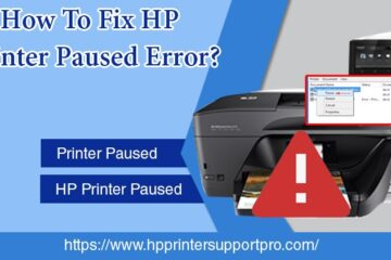 HP Printer Paused