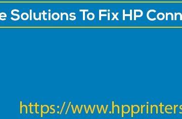 HP Connection Error
