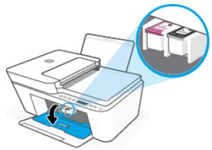 Ink cartridge installation