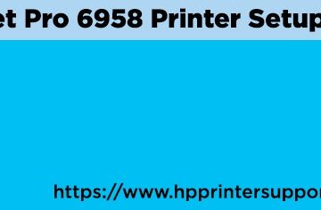 HP OfficeJet Pro 6958 Printer