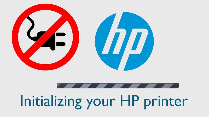 Initializing your HP printer