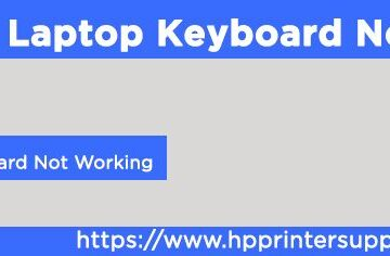 HP Laptop Keyboard Not Working