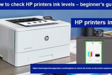 HP printers ink