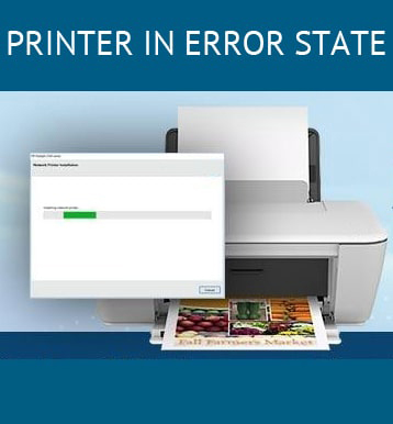 HP printer in error state +1-888-902-8333 printer is in an error state